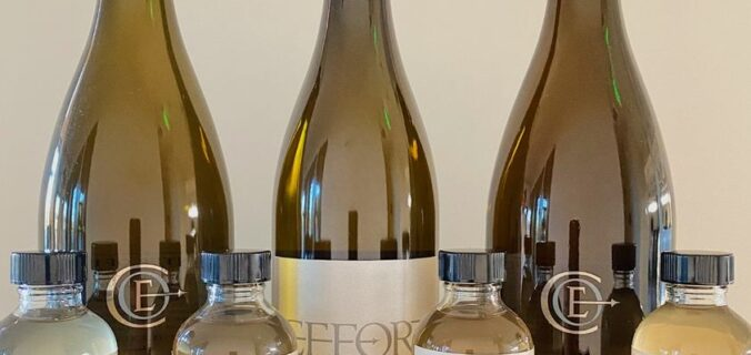 Center of Effort Chardonnays with Four Barrel Samples