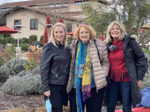 The Three Women After Our Tablas Creek Tasting