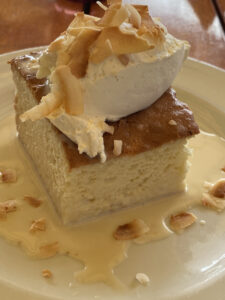 The Grill Tres Leches Cake