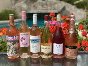 Six Bottles of Rosé