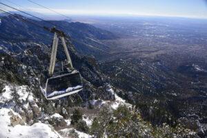 Sandia Peak Ski Tram by Jay Blackwood