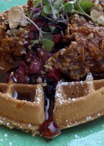 Breakfast of Chicken 'n Waffles