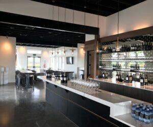 Caprio Cellars Winery Sleek Tasting Room